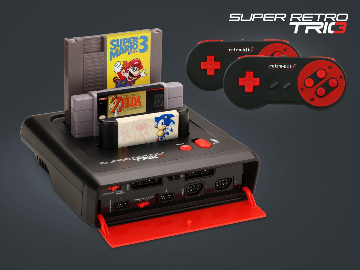 Verwonderlijk Med Super Retro Trio Multikonsol kan du spela dina gamla TV-spel UK-39