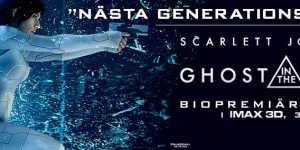 Reklam: GHOST IN THE SHELL med Scarlett Johansson