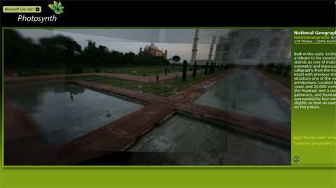 Photosynth gör 3D av dina bilder