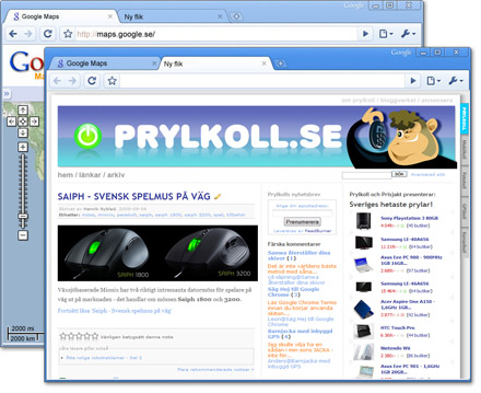 Google backar om Chrome