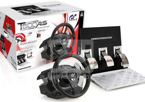 Thrustmaster se atreve con un volante exclusivo para Gran Turismo 5 Thrustmaster-t500rs
