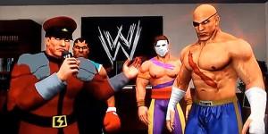 Street Fighter kör wrestling