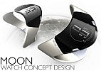 Adrian Castro Moon concept watch