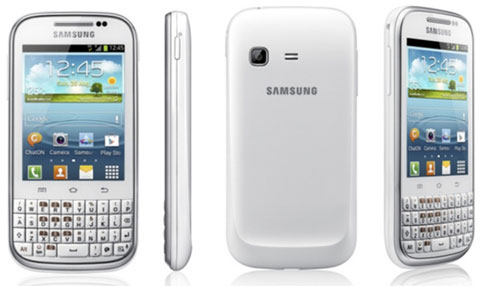 Samsung Galaxy Chat är en Android 4 smartphone med riktigt tangentbord 3d751d8cf93c2