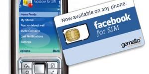 Facebook for SIM för dumbphones
