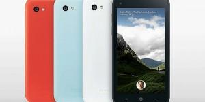 HTC First och Facebook Home