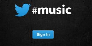 Twitter lanserar #music
