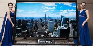 Världens största Ultra HDTV