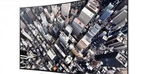 Samsung lanserar böjd UHD LED-TV i Sverige