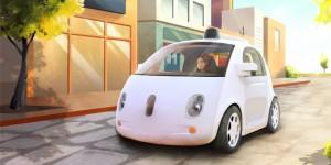 Google visar förarlös prototyp-bil