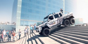 GTA V Dubsta 6×6 in Real Life – Brabus 700 in Gumball 3000 2014