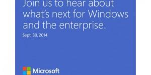Windows 9 visas upp 30 september