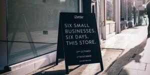 iZettles succé för sin pop-up butik mitt i London