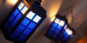 Pynta granen med en Dr Who-ljusslinga