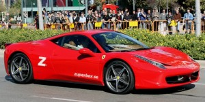 Låt pappa köra Ferrari!