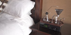 Barisieur är väckarklockan som också brygger kaffe