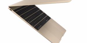 Här är Apples nya gyllene MacBook