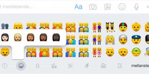 Nya emojis i iOS 8.3 – och Siri har lärt sig svenska