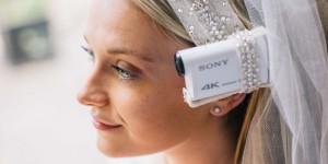 Sonys Bride's Eye View fångar bröllopet från brudens synvinkel i 4K