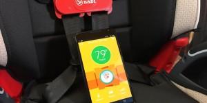 Nabi Car Seat Clip ser till att du inte glömmer ditt barn i bilen