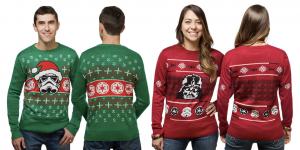 Här är den perfekta jultröjan för Star Wars-fanset