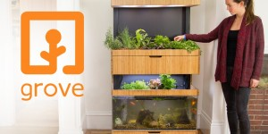 Grove är en smart trädgård för inomhusbruk