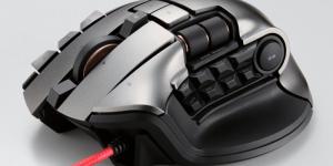 Elecom har släppt en gaming-mus – med nitton knappar