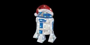 Få extra julkänsla med en lysande R2D2