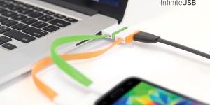 Infinite USB låter dig koppla hur många kablar som helst till datorn