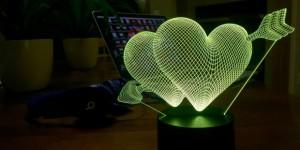 Luna Lights är 3D-lampor i avancerad design