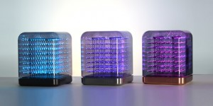 Kublampan Tittle Light lyser i 3D – och skickar emojis