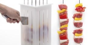 Gör femton perfekta grillspett med KitchPros smarta låda