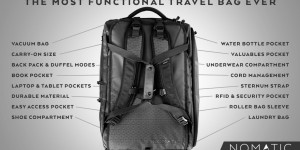 Smart resväska: The NOMATIC travel bag