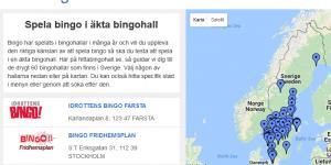 Hitta Bingohallen