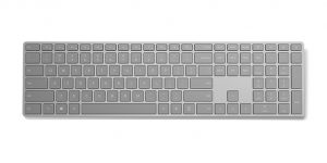 Tangentbord med fingeravtrycksläsare från Microsoft